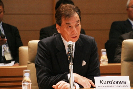 Dr. Kiyoshi Kurokawa (Chairman, Health and Global Policy Institute)